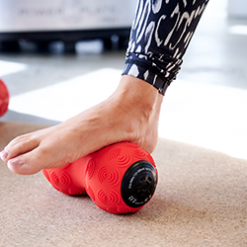 DualSphere for rolling foot for platar fascia release